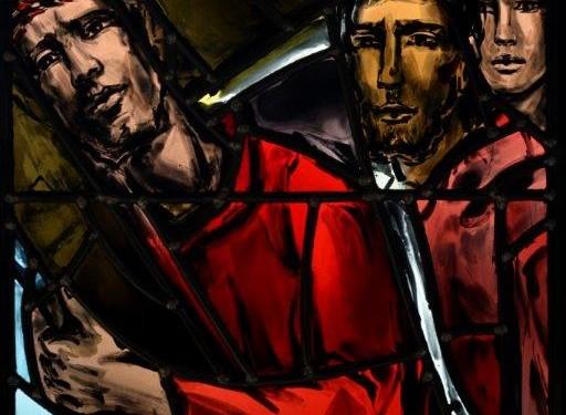 Mystères Douloureux - 04 - Le Portement de Croix